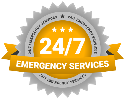 24 / 7 emergency services icon